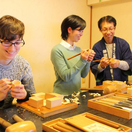 Guinomi sake cup making workshop