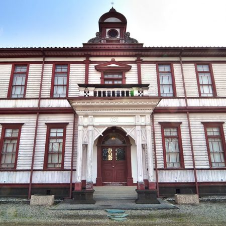 "The old Toyama Prefecture Agriculture School and Important Property ""Ganjokaku"""