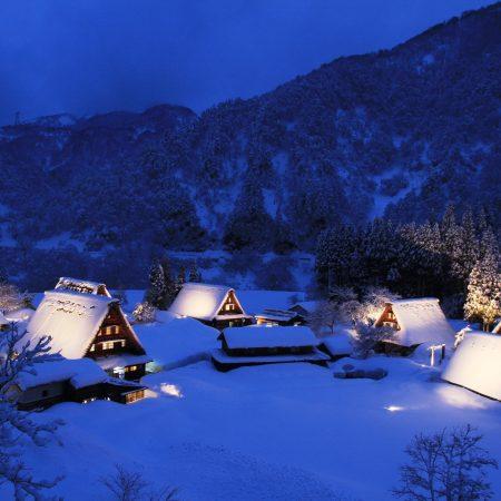 The Seasons of Gokayama: Snow Illumination