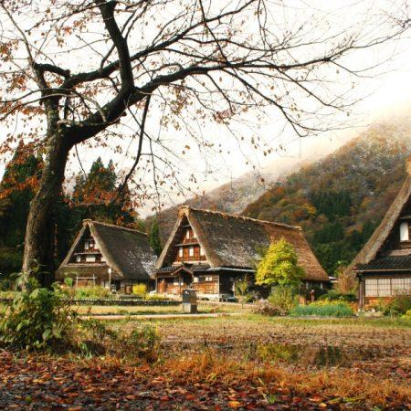 The Gassho-zukuri Village of Suganuma