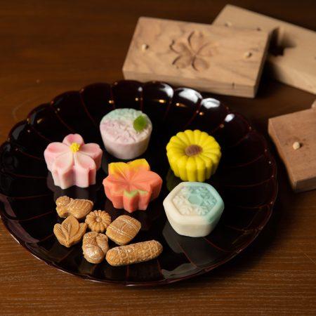 菓子木型で和菓子づくり