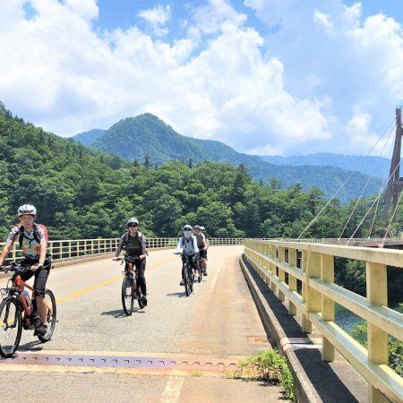 E-bikeで走る!世界遺産五箇山でサイクリング [25kmライド]